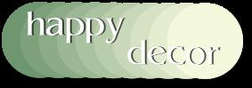happydecor.de - Fachmarkt für Tapeten, Teppiche und  Bödenbeläge im Saarland-Logo